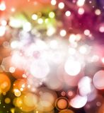 Abstract background. Colorful bright lights abstract background Royalty Free Stock Images