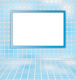 Abstract background. White board on blue sky abstract background Stock Images
