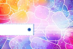 Abstract background. With place for text Stock Illustration
