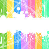 Abstract background. Illustration of colorful abstract background with white space for text Stock Photography