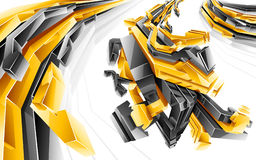 Abstract background. Vector illustration in style graffiti Royalty Free Stock Photography