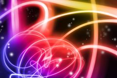 Abstract background. Abstract swirls of color background Stock Photography