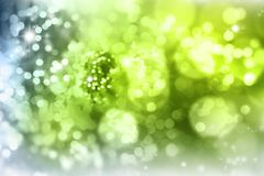 Abstract background. Abstract green tone lights background Royalty Free Illustration