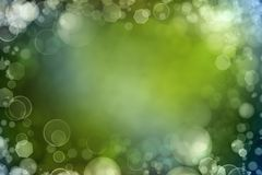 Abstract background. Abstract green color space background Royalty Free Stock Image