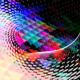 Abstract background. Vector abstract background, EPS 10 with transparency Royalty Free Stock Photo
