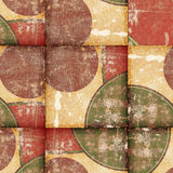 Abstract background. With circles and squares Stock Images