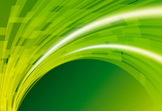 Abstract  background. Abstract green color perspective  background Royalty Free Stock Photos