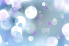 Abstract background. Bright circles of light abstract background Stock Images