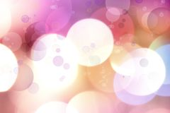 Abstract background. Colorful circles abstract glowing background Royalty Free Stock Photo