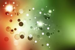 Abstract background. Abstract red and green tone space background royalty free illustration