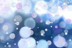 Abstract background. Blue tone circles abstract background royalty free illustration