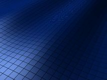 Abstract background. 3d rendered illustration of a blue abstract background Stock Photos