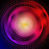 Abstract Background. A bright light tunnel abstract background Royalty Free Illustration