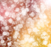 Abstract background. Abstract christmas background, bokeh illustration Stock Image