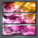 Abstract background. The abstract background reminds fire, smooth lines well will be suitable for a decor and design royalty free illustration
