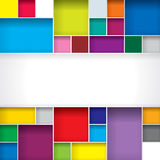 Abstract Background. Abstract color boxes background with copy space Royalty Free Stock Photos