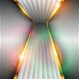 Abstract background. Abstract 3D background shiny metallic, vector Stock Photos