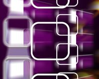 Abstract background. Abstract elements on the background Stock Image