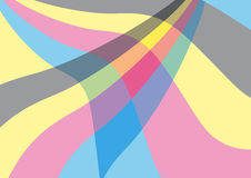 Abstract background. In pastel cmyk colors Royalty Free Illustration