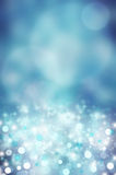 Abstract background. Blue sparkle and glitter abstract background Royalty Free Stock Images