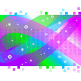 Abstract background. Vector illustration of colorful abstract background Stock Photo