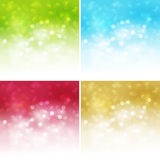Abstract background. Vector illustration abstract light background with bokeh royalty free illustration