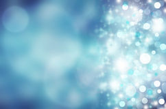 Abstract background. Beautiful abstract background with sparkling lights, beautiful bokeh Royalty Free Stock Photo
