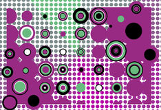 Abstract background. Retro coloured illustration, abstract background Royalty Free Stock Image