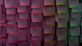 Abstract background. 3d abstract background. Cubes and degraded extrusion stock illustration