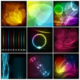 Abstract Background. Easy to edit illustration of collection of abstract background vector illustration