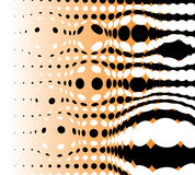 Abstract background. Made from black dots stock illustration