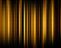 Abstract background. An abstract gold background with cylinders or curved surfaces stock illustration