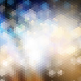 Abstract background. Abstract design background with hexagon shapes Stock Images