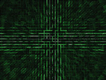 Abstract Background. An abstract 3D green background Royalty Free Stock Photo