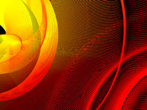 Abstract background. Stylized waves, place for text Stock Photo