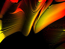 Abstract background. Stylized waves, place for text Royalty Free Stock Photo