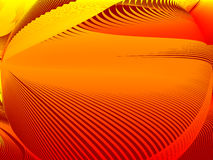 Abstract background. Stylized waves, place for text Stock Image