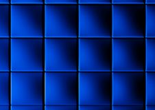 Abstract background of 3d blocks. Blue cubes Royalty Free Stock Photo