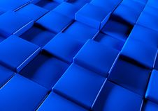 Abstract background of 3d blocks Stock Image