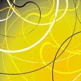 Abstract background. Vector grunge background - lines and waves Stock Photos