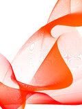 Abstract background. Stylized waves, place for text Stock Illustration