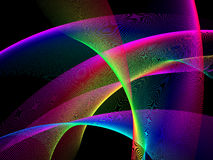 Abstract background. Light show, place for text Vector Illustration