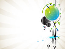 Abstract background. Abstract vector background with circles Royalty Free Stock Photography