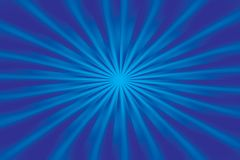Abstract background. Abstract radiant shiny blue background Royalty Free Illustration