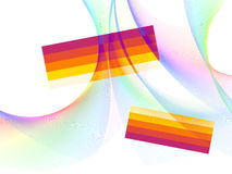 Abstract background. Vector without mesh, use only linear gradient Vector Illustration