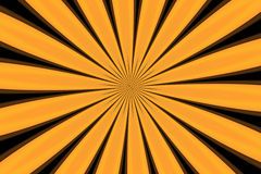 Abstract background. Abstract yellow pattern on the black background Royalty Free Stock Images