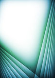Abstract background. Abstract green blue computer generated background stock illustration