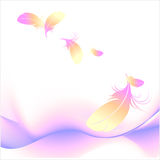 Abstract background. Abstract back with colored lines, illustration royalty free illustration