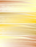 Abstract background. Abstract banners, stylized waves, place for text Royalty Free Stock Photography