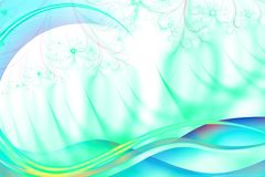 Abstract Background. Abstract wave background of a digital Illusrtration Royalty Free Stock Photo
